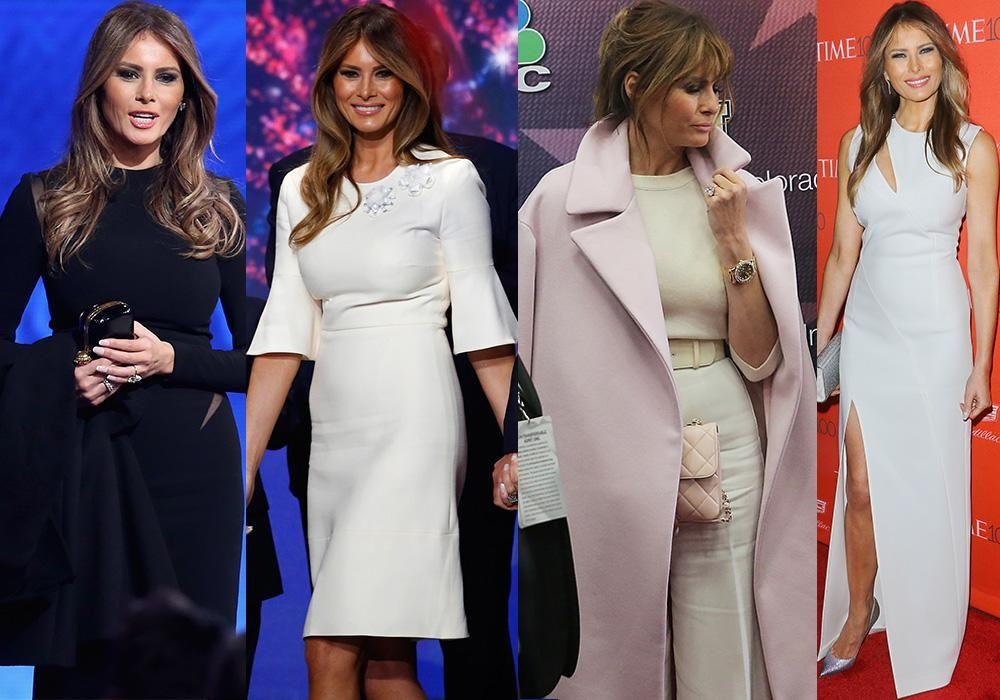 Безупречный стиль первой леди США Мелании Трамп, фото № 3