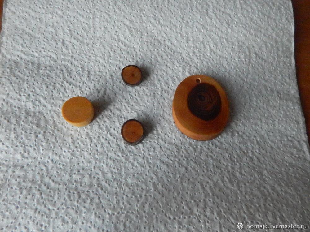 окраска заготовок, деревянные бусины