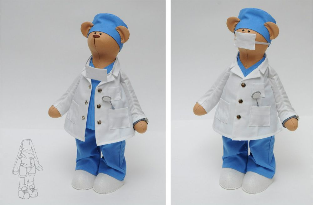 мишка доктор