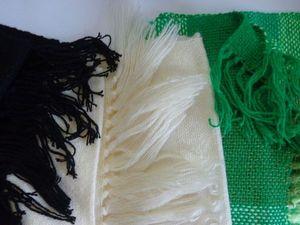 Домотканые шарфы. Ярмарка Мастеров - ручная работа, handmade.