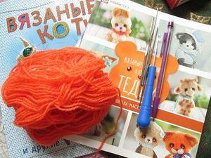 Вязаные игрушки - и снова учусь..... Ярмарка Мастеров - ручная работа, handmade.