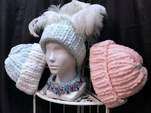 СКИДКА на шапочки - зефирки!. Ярмарка Мастеров - ручная работа, handmade.