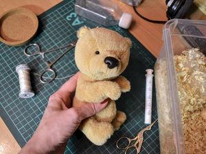 Скоро-скоро будут новые мишутки.. Ярмарка Мастеров - ручная работа, handmade.