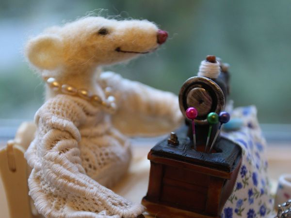 очередная мышуня!) | Ярмарка Мастеров - ручная работа, handmade