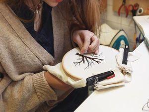 Реалистичные и изящные работы французской вышивальщицы Delphil Brodeuse. Ярмарка Мастеров - ручная работа, handmade.