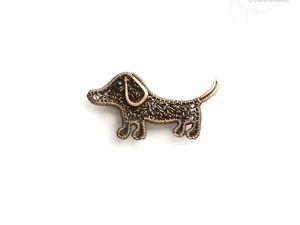 Новинка: брошь Собака - символ 2018 года. Ярмарка Мастеров - ручная работа, handmade.