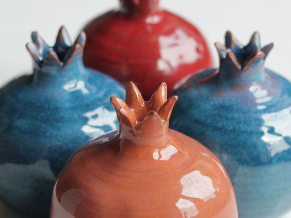Осенние гранаты | Ярмарка Мастеров - ручная работа, handmade
