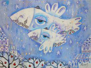 Белые вороны. Ярмарка Мастеров - ручная работа, handmade.