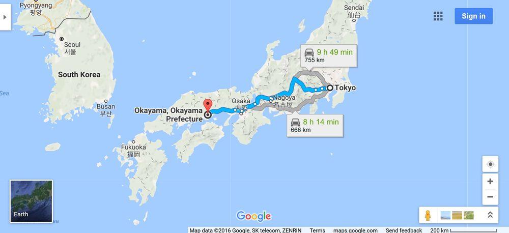 япония, путевые заметки