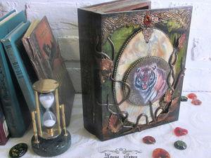 Книга Джунглей - фото и видео работы   Ярмарка Мастеров - ручная работа, handmade