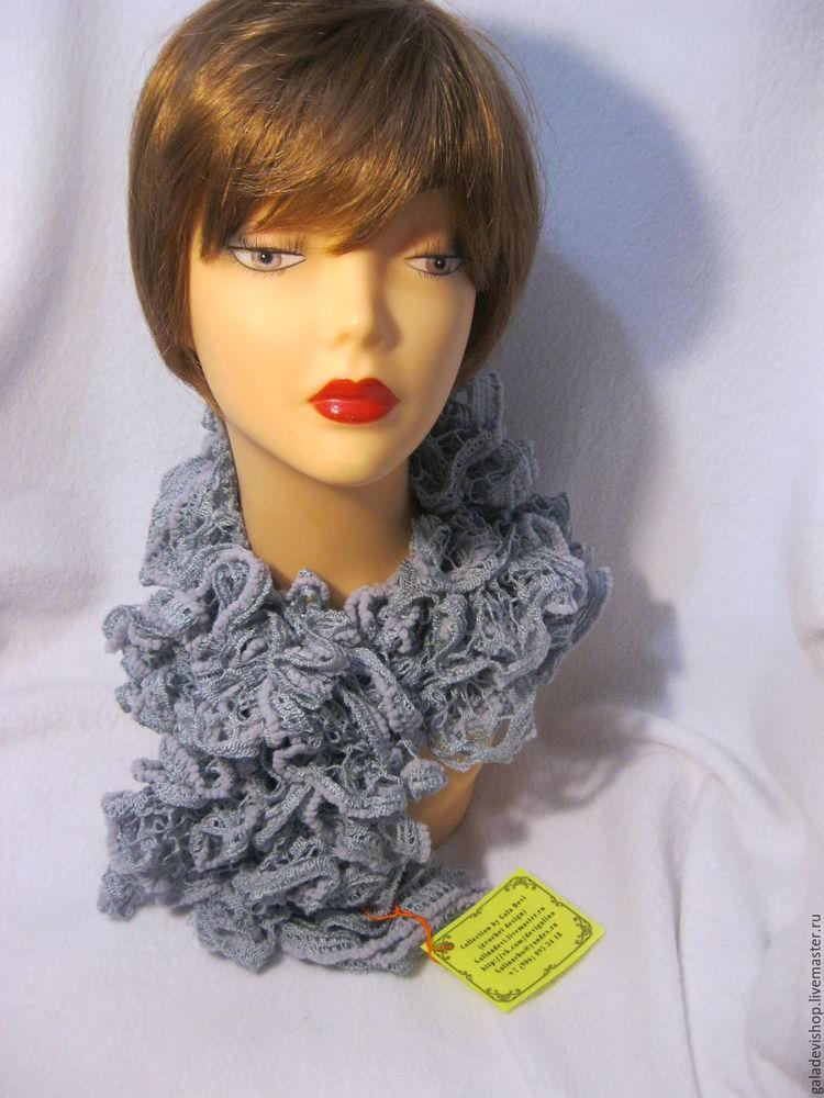 ажурный шарфик, вязаный шарфик, шарфик для женщин, шарфик в подарок, подарок, новогодний подарок, акция черная пятница, распродажа, gala devi