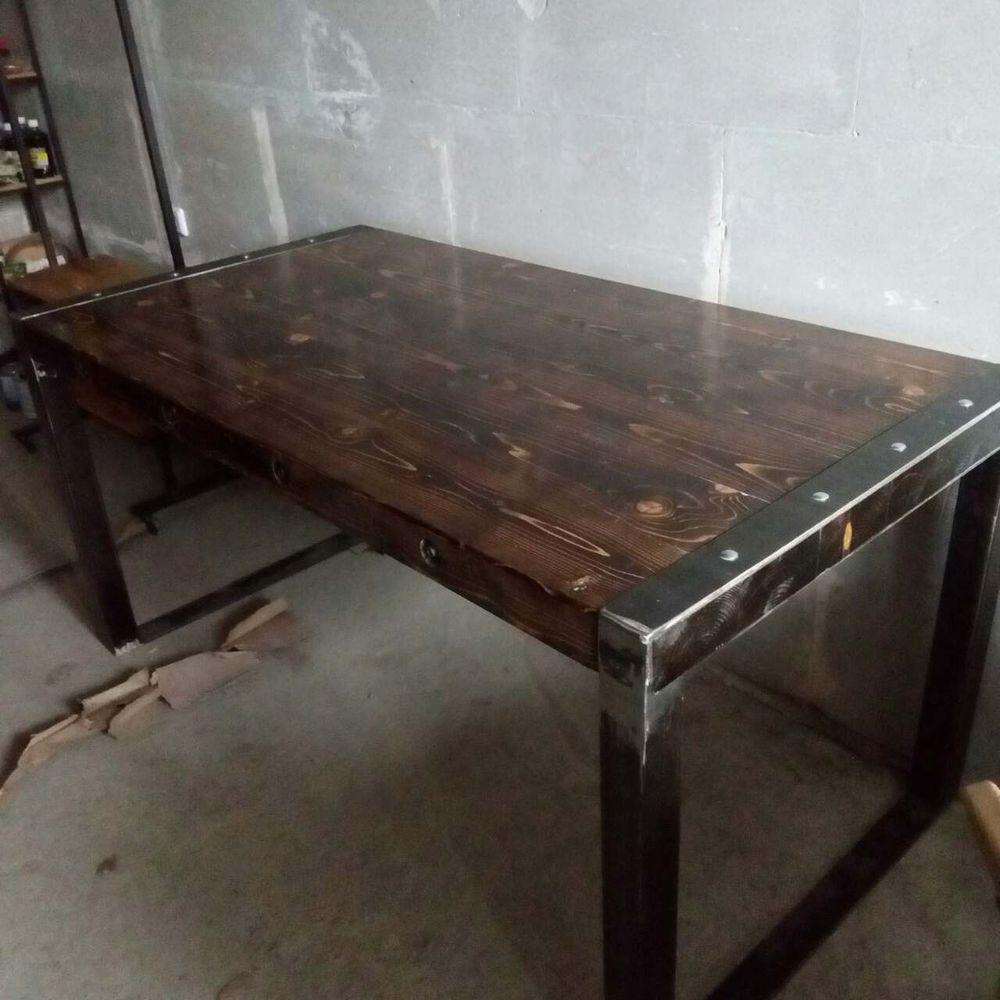 лофт стол, столы в бар