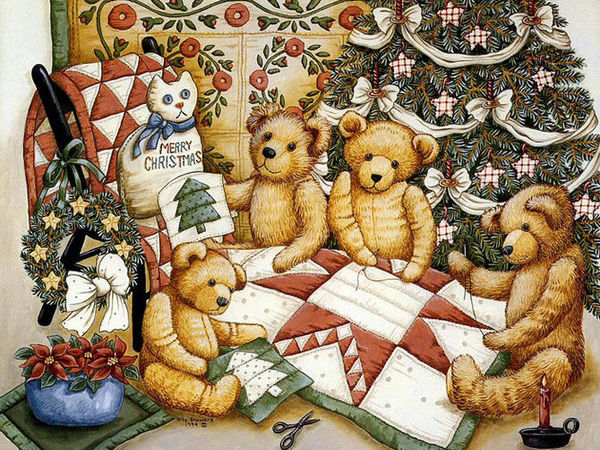 Мишек много не бывает!!! | Ярмарка Мастеров - ручная работа, handmade