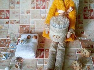 Тильда банный ангел — видеообзор. Ярмарка Мастеров - ручная работа, handmade.