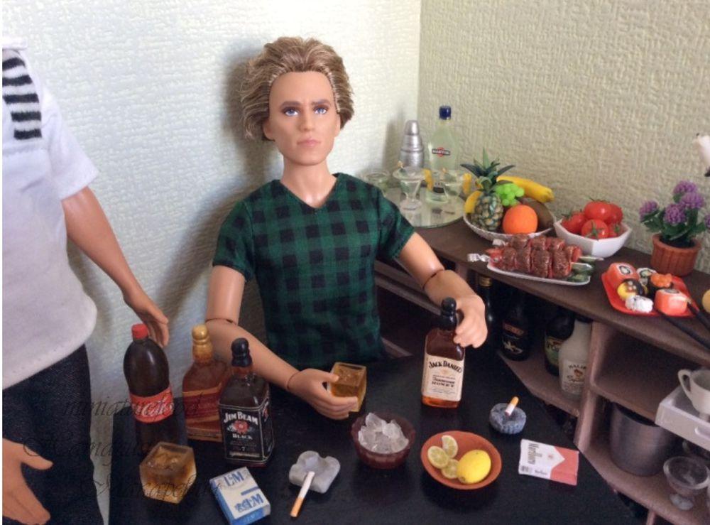 мужской праздник, поздравление, куклы, кукольный мир, кукольный дом, миниатюра, миниатюра ручной работы