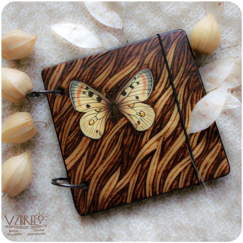 vzbrelo, деревянный блокнот, аполлон, деревянный скетчбук, подарки, роспись