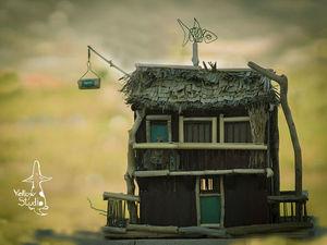 Дом Эрола или Мухин дом. Ярмарка Мастеров - ручная работа, handmade.