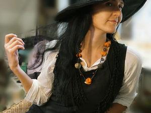 КИЦУНЭ - новые волшебные этно-бусы. Ярмарка Мастеров - ручная работа, handmade.