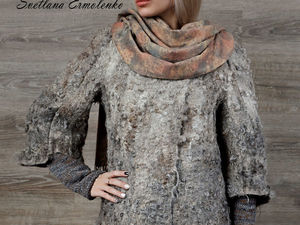 Акция магазина! Валяная курточка за пол цены!. Ярмарка Мастеров - ручная работа, handmade.