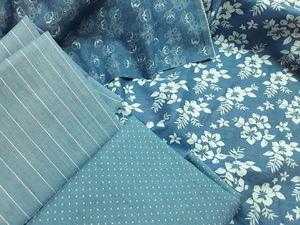 СКоРО! Новые тонкие джинсовые ткани с рисунком!. Ярмарка Мастеров - ручная работа, handmade.
