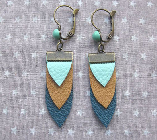 30 Simple Ideas for Design of Handmade Leather Jewelry, фото № 18