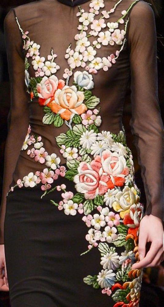 Самая красивая вышивка в блогах