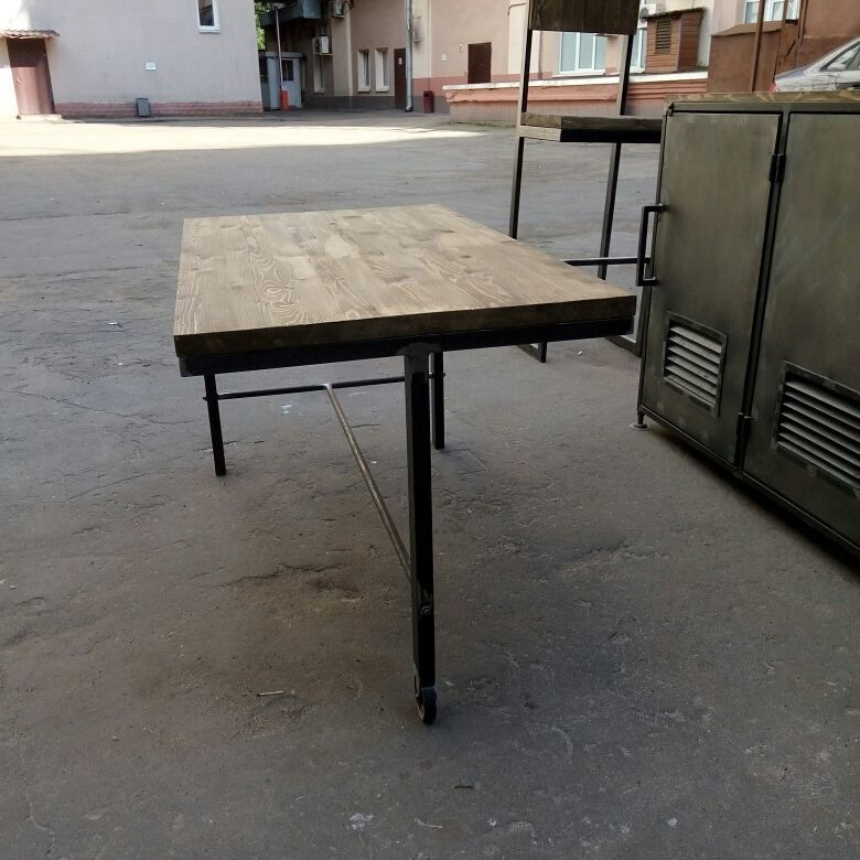 комод из металла, стол лофт, купить стол лофт, индустриальный стиль, лофт, loft industrial