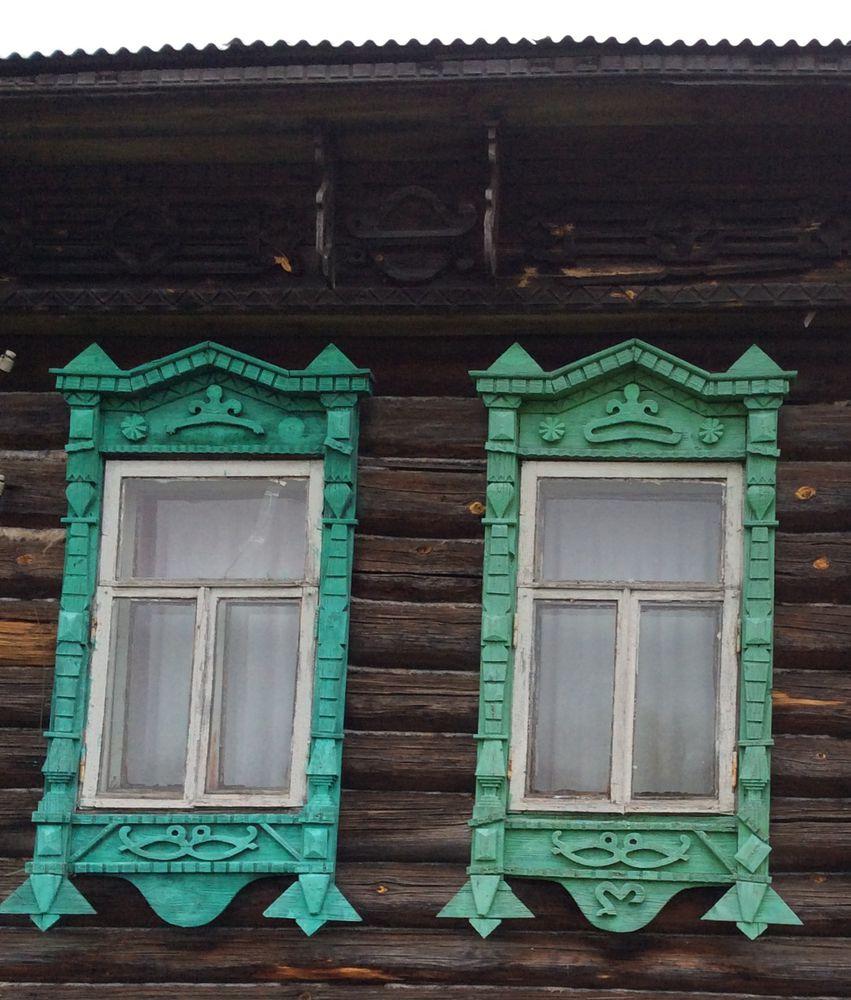 окна старых домов