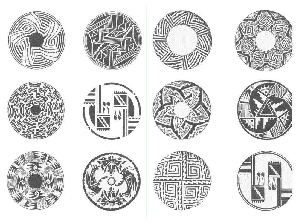 индейские мотивы, этнические орнаменты, вдохновение