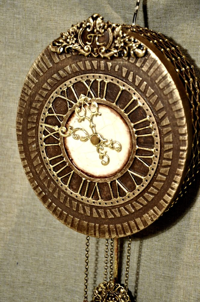 Создаем сказочные декоративные часы для большой елки, фото № 29