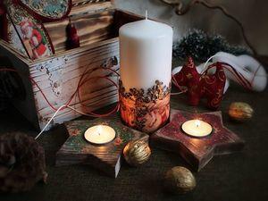 Новогодний сундучок. Несколько дополнительных фотографий.. Ярмарка Мастеров - ручная работа, handmade.