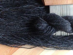 Создаём на частом гребне гребенную ленту из собачьего пуха на примере вычеса тибетского матифа. Ярмарка Мастеров - ручная работа, handmade.