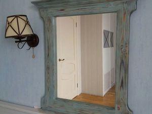 Декорируем зеркало при помощи воска и верненских красок. Ярмарка Мастеров - ручная работа, handmade.