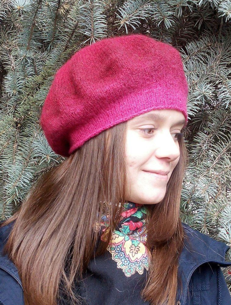 Вязано-валяные береты, фото № 4