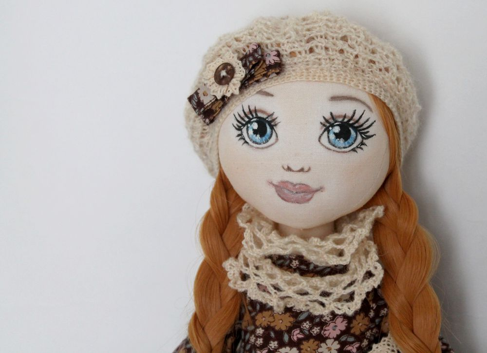 аукцион, аукцион на куклу, текстильная кукла