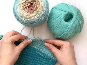 И снова тунисское вязание. Ярмарка Мастеров - ручная работа, handmade.