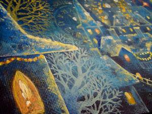 Рождественское настроение. Новая картина. Ярмарка Мастеров - ручная работа, handmade.