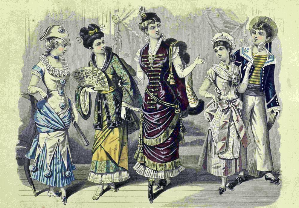 Восхитительная мода конца ХIХ века, фото № 13