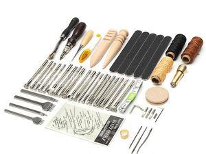 Набор инструментов для работы с кожей 59 предметов!. Ярмарка Мастеров - ручная работа, handmade.