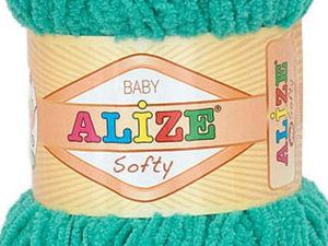 Поступление цветов пряжи Alize Softy | Ярмарка Мастеров - ручная работа, handmade
