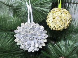 DYI Video: 2 Ideas for Christmas Decorations. Livemaster - handmade