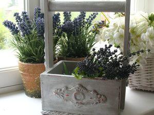 Декорируем корзиночку из-под цветочной композиции полимерной глиной. Ярмарка Мастеров - ручная работа, handmade.