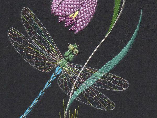 Достояние Англии — изысканная вышивка гладью Helen M. Stevens | Ярмарка Мастеров - ручная работа, handmade