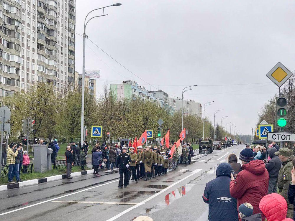 День Победы в моем подмосковном городке., фото № 3