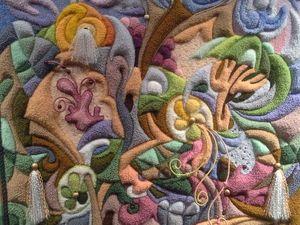 Фантазиям в рукоделии нет границ. Часть 3. Волшебные гобелены. Ярмарка Мастеров - ручная работа, handmade.