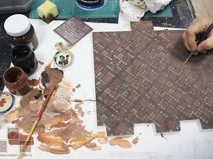 Работа над макетом интерьера в масштабе 1:20. Ярмарка Мастеров - ручная работа, handmade.