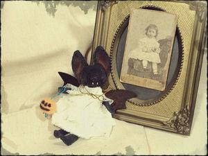 Летучая машка к Хеллоуину. Ярмарка Мастеров - ручная работа, handmade.