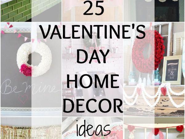 25 креативных и простых идей оформления интерьера ко Дню святого Валентина | Ярмарка Мастеров - ручная работа, handmade