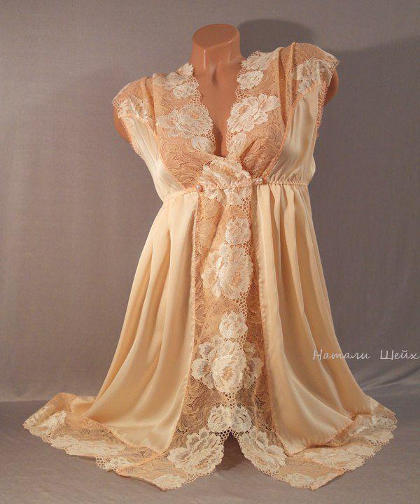 халат, белье ручной работы, одежда ручной работы, красивое белье, натали шейх, подарок жене