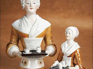 Ах, эти чудесные куклы-половинки, или Желанная «Шоколадница». Ярмарка Мастеров - ручная работа, handmade.